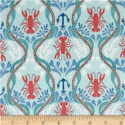 Lewis & Irene Harbour Side Lobster Teal