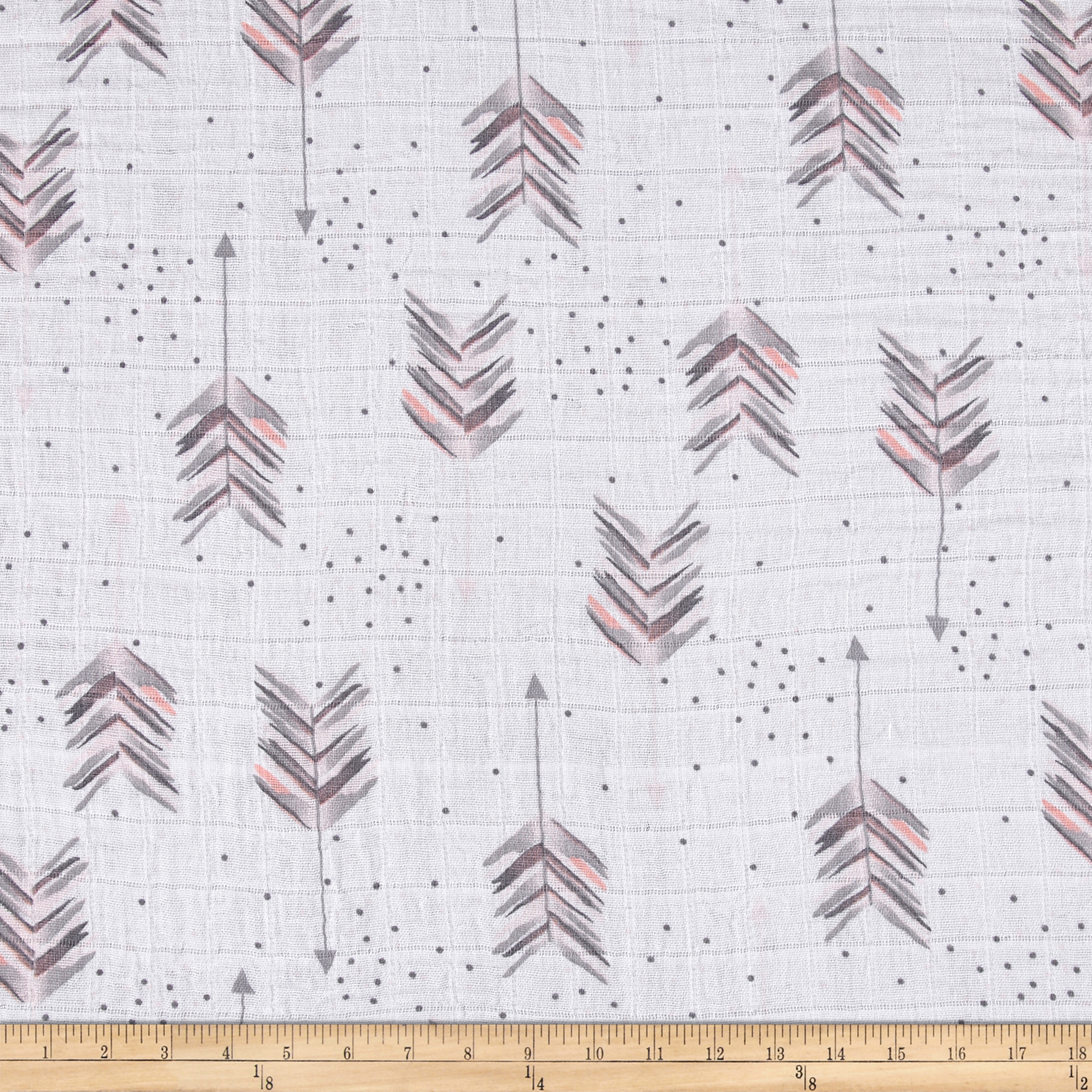 Shannon Embrace Double Gauze Aim High Pink Fabric by Shannon in USA