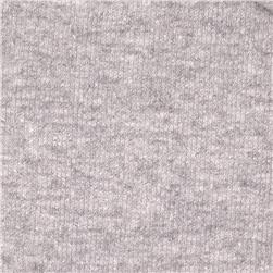 French Terry Knit Solid Cool Grey