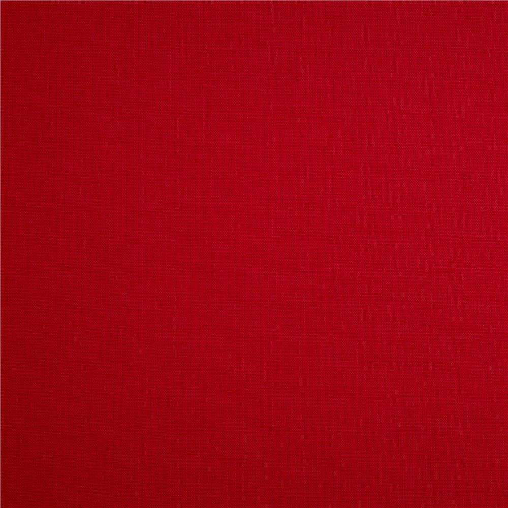 Kona cotton red discount designer fabric for Fabric purchase