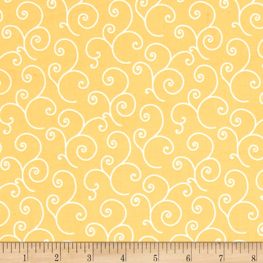Maywood Studio Kimberbell Basics Scroll Yellow