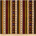 Spice Garden Repeating Stripe Brown