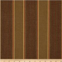 Sunbrella Outdoor Davidson Stripe Redwood