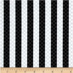 Sports Life Stripe White/Black