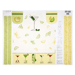 "Happy Hour 36"" Apron Panel Cream"