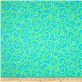 Hip Happier Swirls Teal