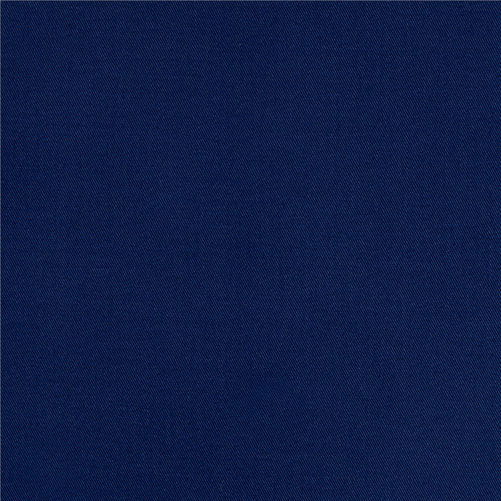Kaufman Fineline Twill 4.9 Oz Prussian Blue