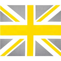 Riley Blake Union Jack 36'' Panel Yellow Fabric