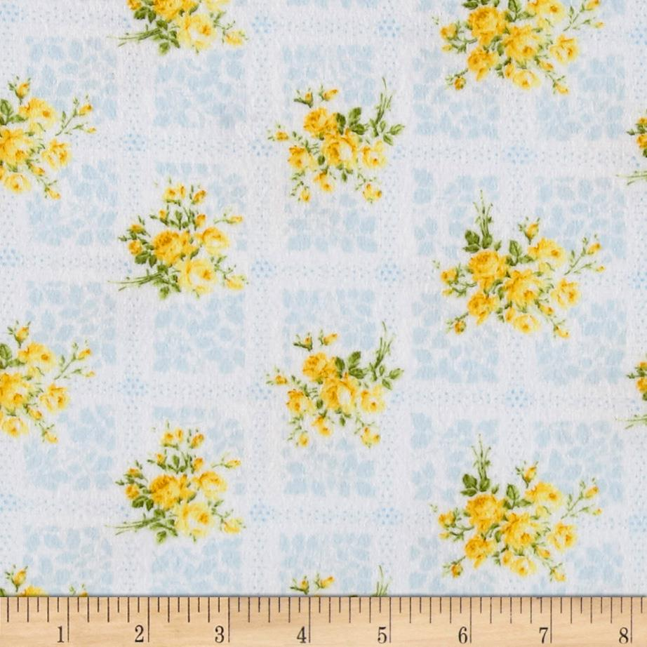 Afternoon In The Attic Flannel Memento Daffodil