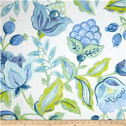Waverly Twill Modern Poetic Aquarium Fabric