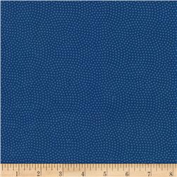 "Timeless Treasures 108"" Extra Wide Spin Dot Ocean"