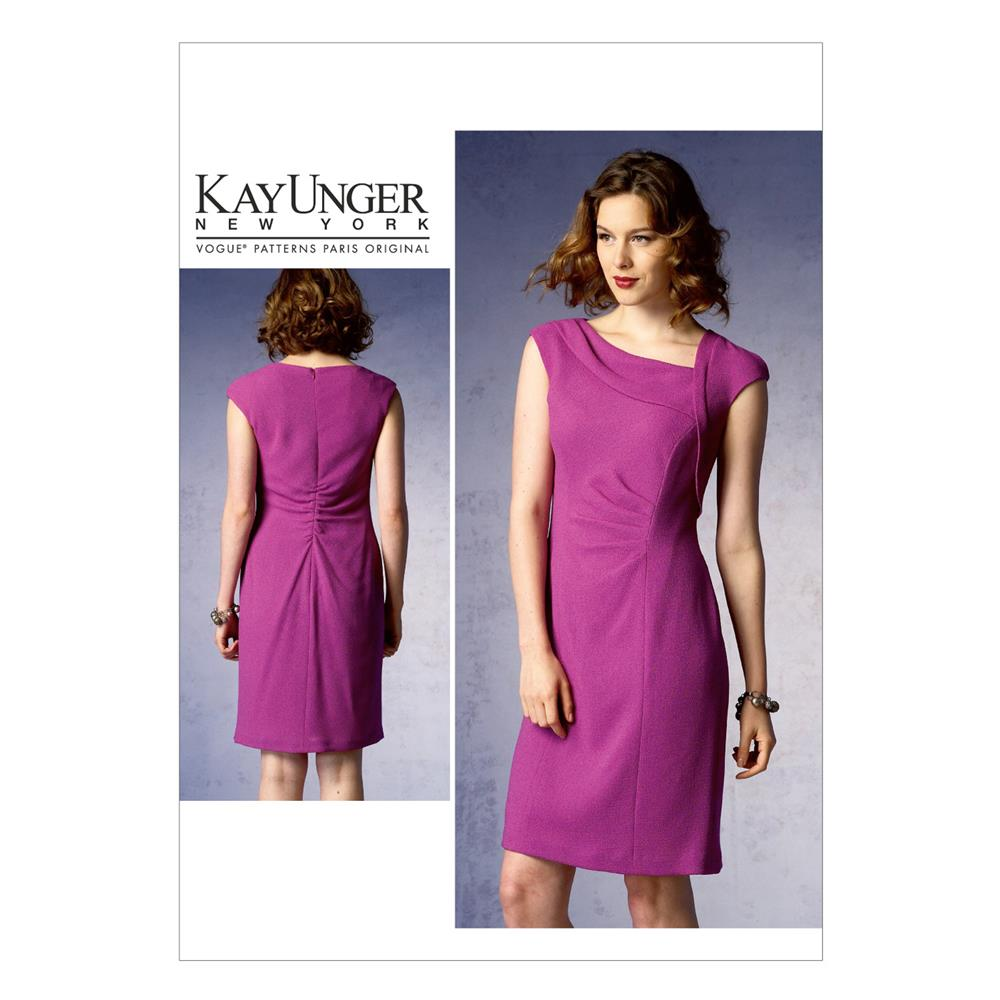 Vogue Misses' Dress Pattern V1369 Size B50