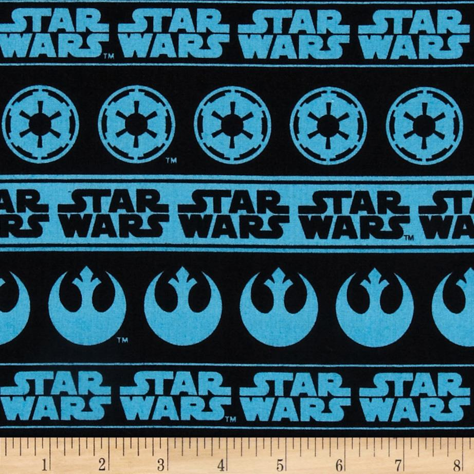 Star Wars Logo Blue