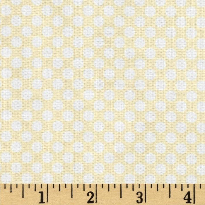 Riley Blake Calliope Dot Cream