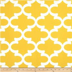 Premier Prints Fynn Slub Corn Yellow Fabric