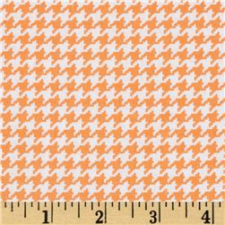 Michael Miller Tiny Houndstooth Apricot