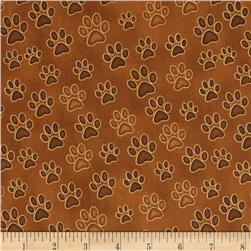 Wildcats Paws Brown