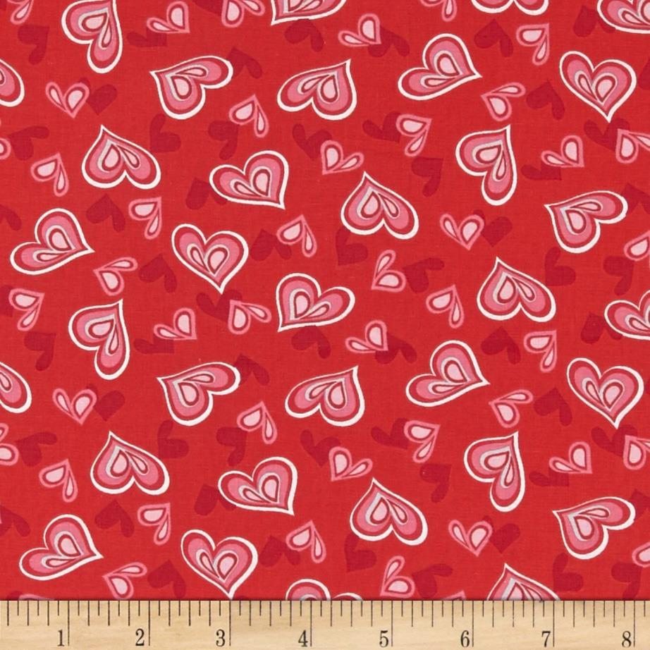 Heart & Soul Hearts Red