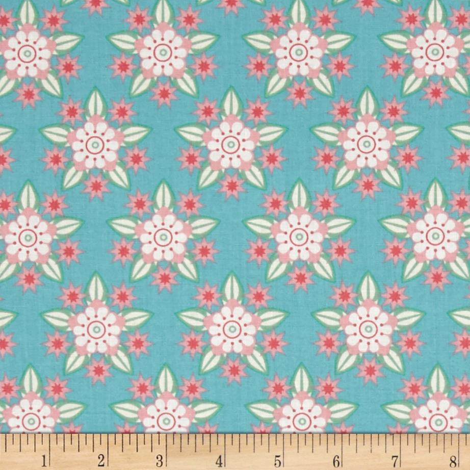 Connecticut state flower moutain laurel pink green for The fabric of