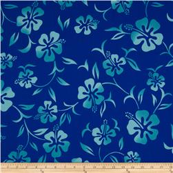 Hoffman Tropicals Pareau Royal Blue
