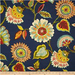 Swavelle/Mill Creek Ailey Floral Prussian Blue