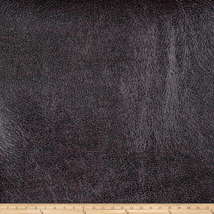 Fabricut Pewter Faux Leather Leather