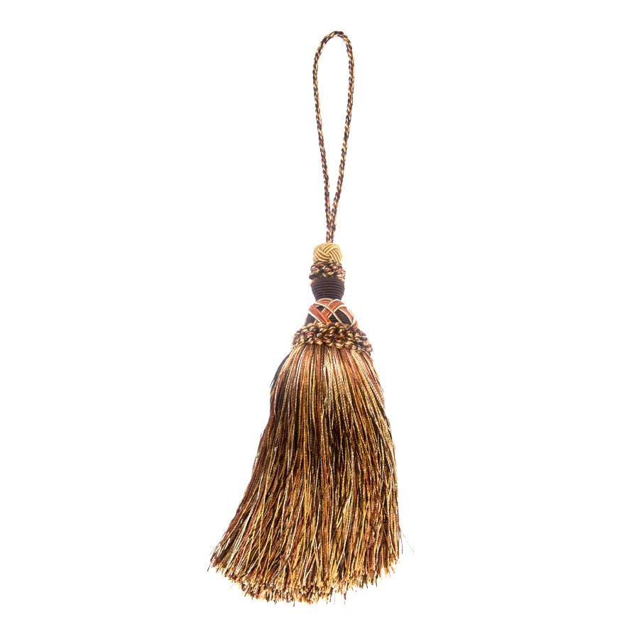 "Trend 12.5"" 01747 Key Tassel Tiger's Eye"