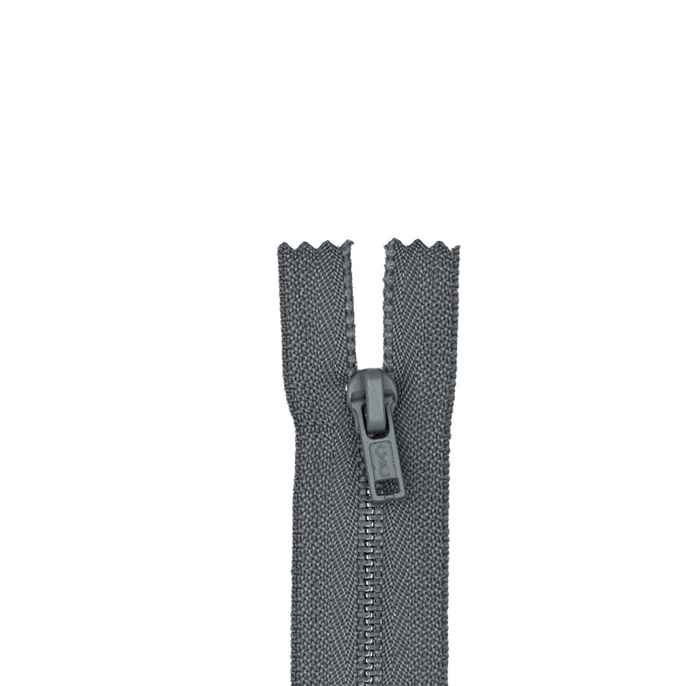 Metal All Purpose Zipper 9'' Slate