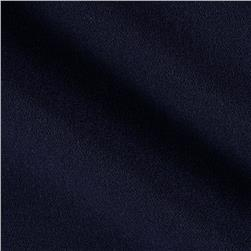 Kaufman Bi Stretch Crepe Navy Fabric