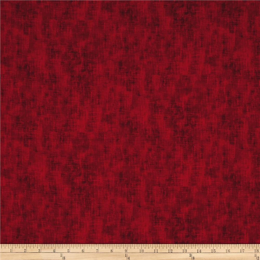 Timeless Treasures Studio Texture Ruby