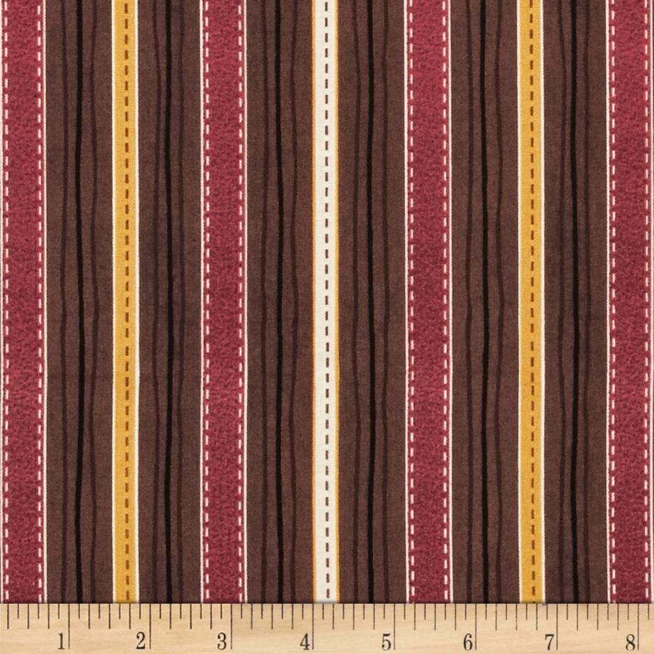 Classic Indian Stripe Brown