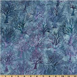 Northwoods Batiks Trees Small Slate