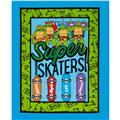 Teenage Mutant Ninja Turtles Super Skater Panel Blue
