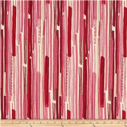 Modern Christmas Stripe Red