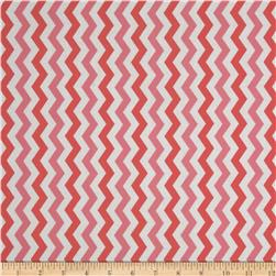 Flamingo Road Chevron Pink