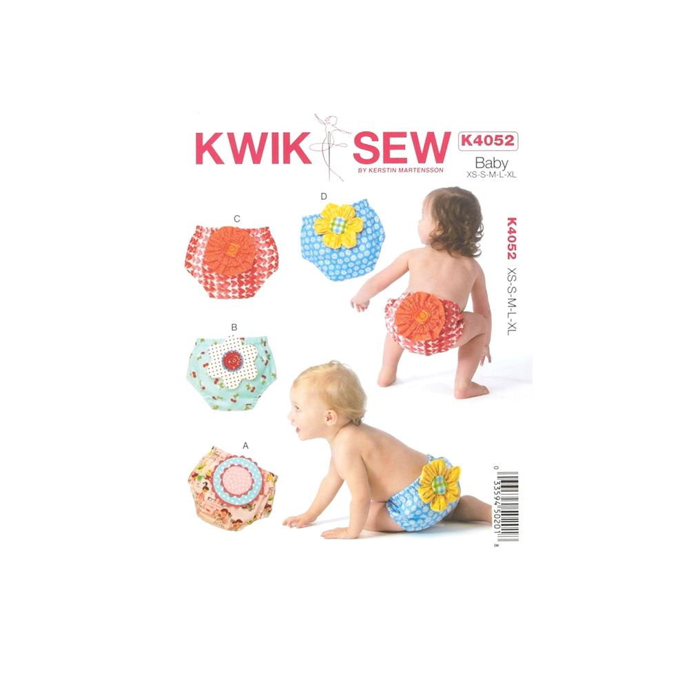 Kwik Sew Baby Diaper Cover Pattern