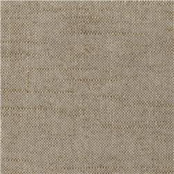 Metallic European Linen Blend Gold Mine