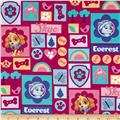 Nickelodeon Paw Patrol Skye and Everest Hot Pink/Multi