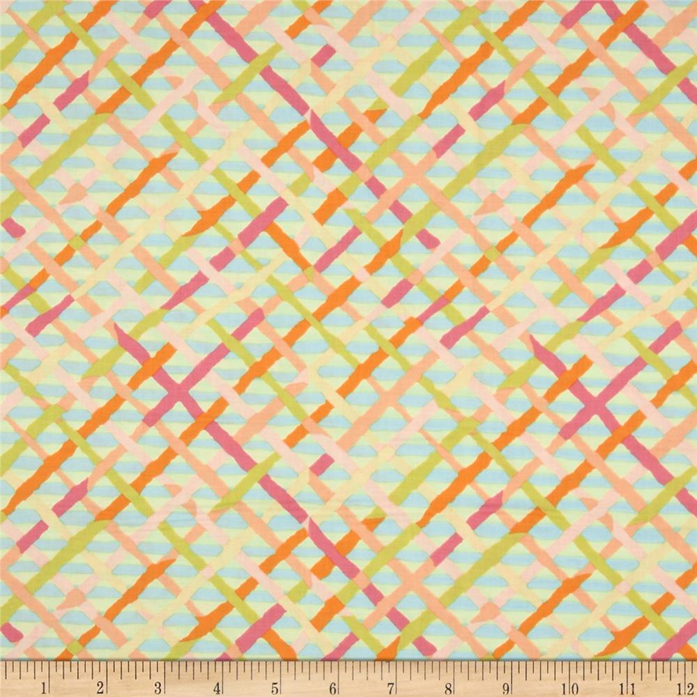 Kaffe Fassett Collective Mad Plaid Pastel