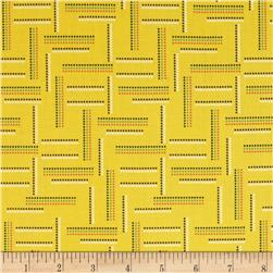 Rumble Dotted Stripe Yellow