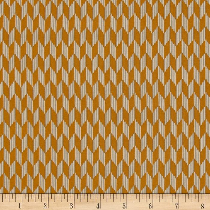 Laredo Chevron Geometric Gold