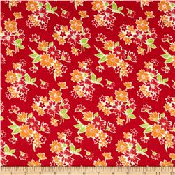 Moda Miss Kate Spring Floral Red