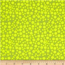 Tweet Dots Lime Green