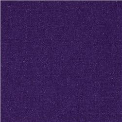 Raw Silk Noil Ultra Purple