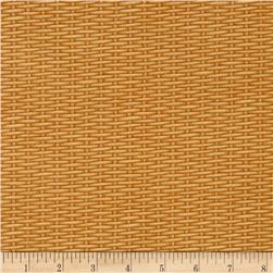 Harvest Botanical Basket Weave Cream