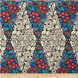 Amy Butler Hapi Trapeze Charcoal Fabric