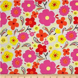 Valencia Large Floral Gray