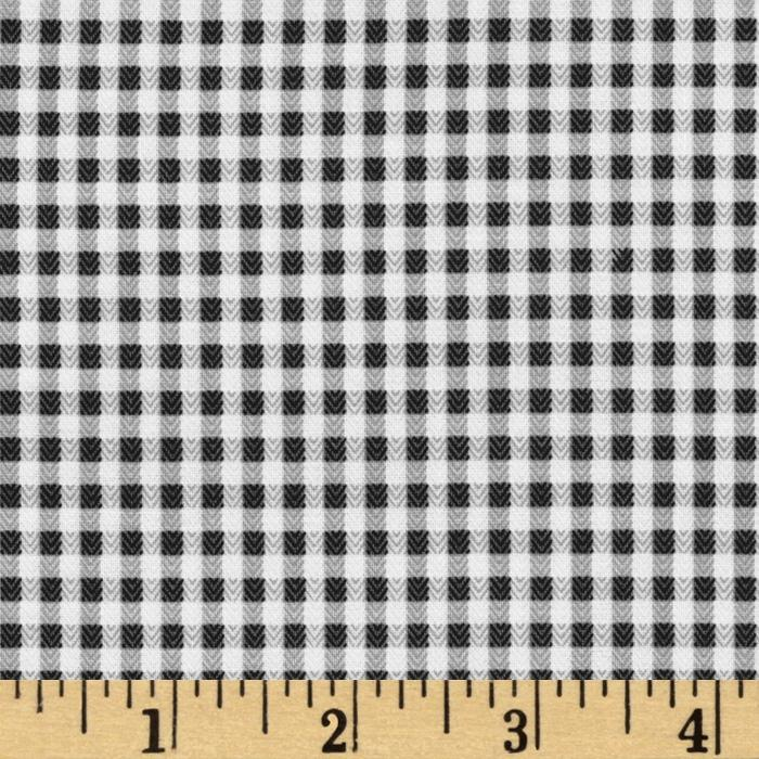 Herringbone Check Charcoal