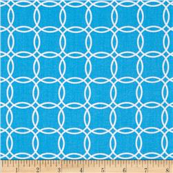 Metro Living Interlocking Circles Blue
