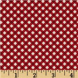 The Magic of Oz Gingham Ruby Red
